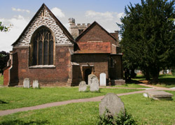 All Saints Church from the East